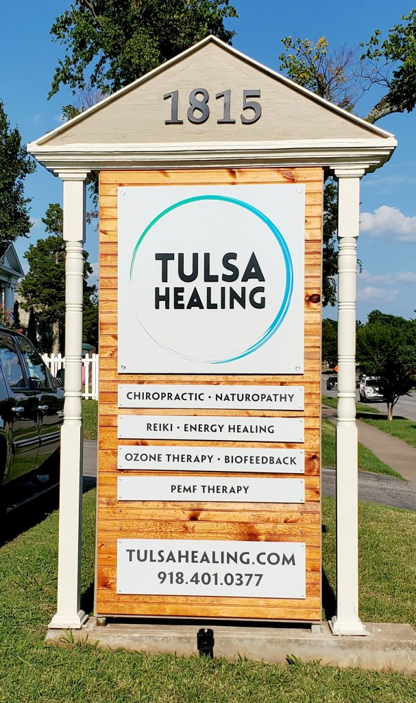 Tulsa healing sign photo